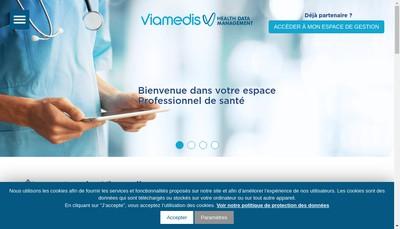 Site internet de Viamedis