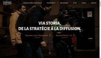 Site internet de Via Storia