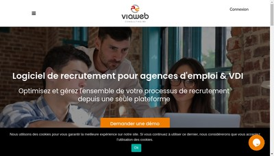 Site internet de Viaweb Consulting