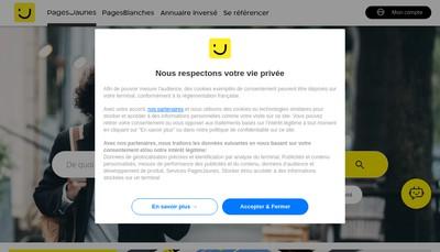 Site internet de Astier Victor