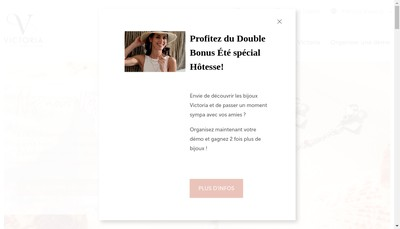 Site internet de Victoria France