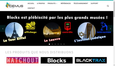 Site internet de Videmus