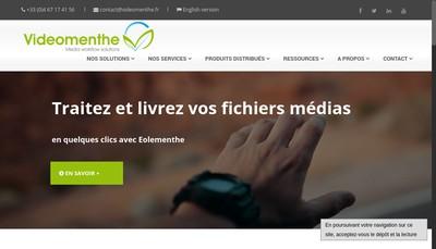 Site internet de Videomenthe