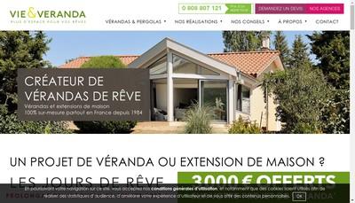 Site internet de Vie et Veranda