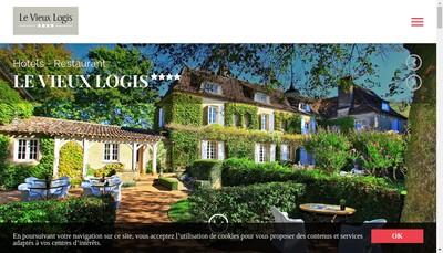 Site internet de Hotel Restaurant le Vieux Logis