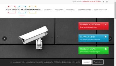 Site internet de Vigiexpert