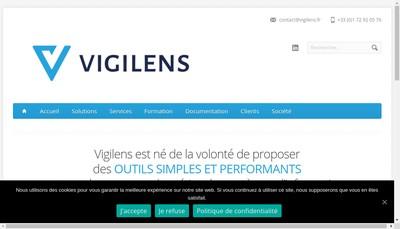 Site internet de Vigilens