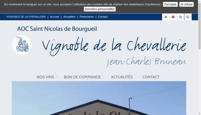 Site internet de SAS Jean-Charles Bruneau