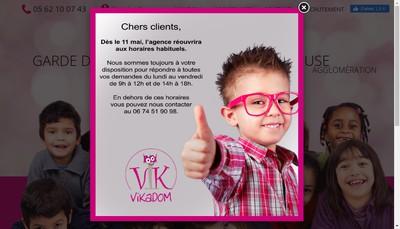 Site internet de Vikadom