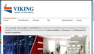 Site internet de Viking SA
