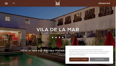 Site internet de Vila de la Mar
