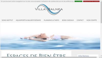 Site internet de Villa Balnea