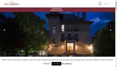 Site internet de SARL Villa Morelia