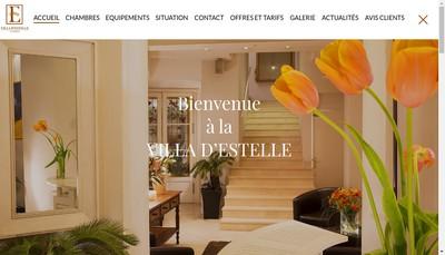 Site internet de Villa d'Estelle