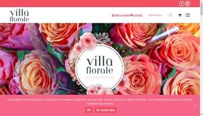 Site internet de Villa Florale