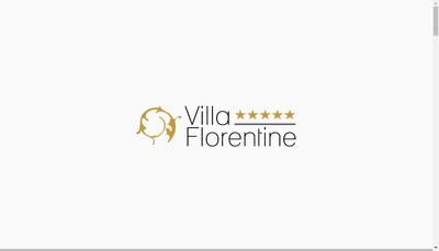 Site internet de Hotel Villa Florentine