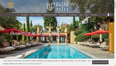 Site internet de Villa Gallici