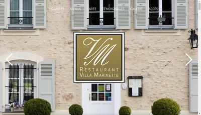 Site internet de Villa Marinette