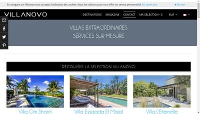 Site internet de Villanovo