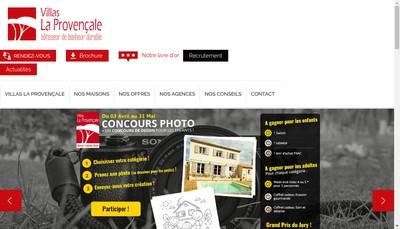 Site internet de SARL Constructions de Provence