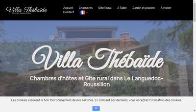 Site internet de Villa Thebaide