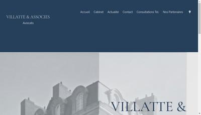 Site internet de Villatte et Associes
