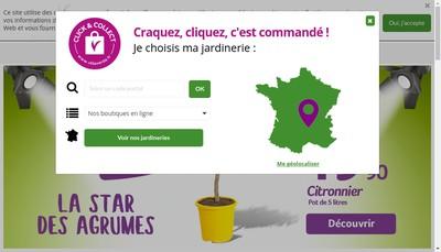 Site internet de L'Espace Enchante Vilmorin