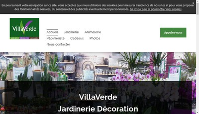 Site internet de Montbard Jardin