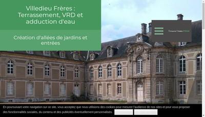 Site internet de Villedieu Freres
