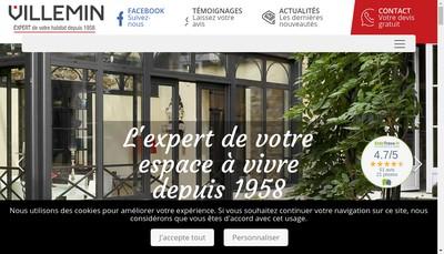 Site internet de Villemin - Vm