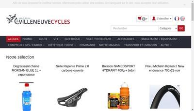Site internet de Villeneuve Cyles