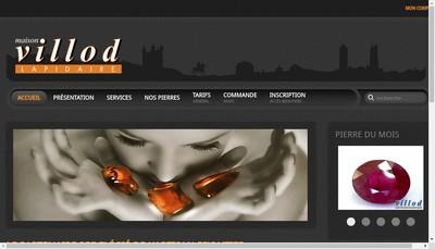 Site internet de Rey Coquais Pierres