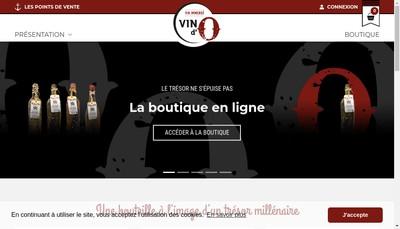 Site internet de Vin d'O