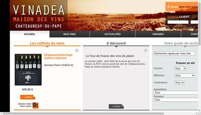 Site internet de Vinadea