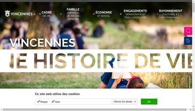 Site internet de Bar Pmu le Vincennes