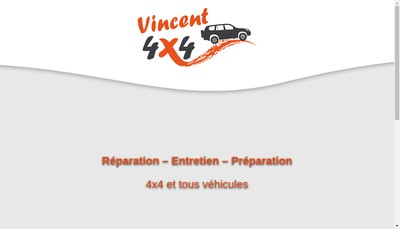Site internet de Vincent 4 X 4
