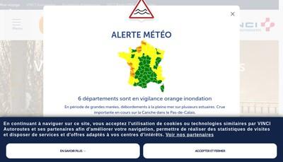 Site internet de Cofiroute