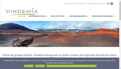Site internet de Vindemia