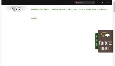 Site internet de Vinis