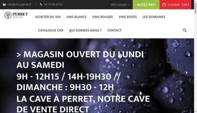Site internet de SAS G Perret