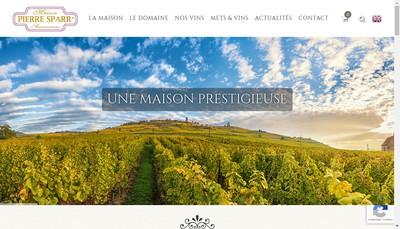 Site internet de Maison Pierre Sparr Successeurs