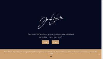 Site internet de Vins Jean-Luc Colombo