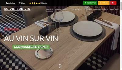 Site internet de Vin sur Vin