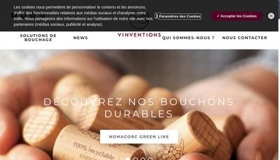 Site internet de Vinventions France
