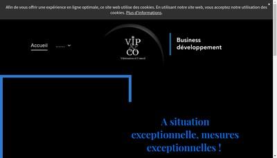 Site internet de Vip&Co