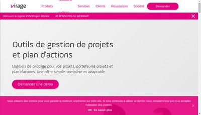 Site internet de Virage Group