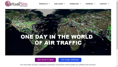Site internet de Virtualsim SARL