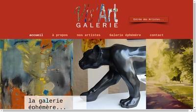 Site internet de Vis'Art
