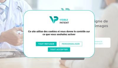 Site internet de Visible Patient