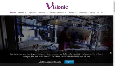 Site internet de Visionic
